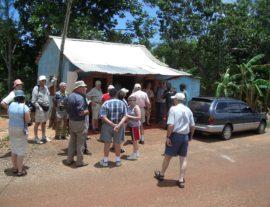 Resource village tour welcome